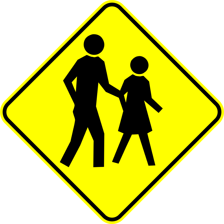 Traffic Signs - Pedestrian Crossing [2]